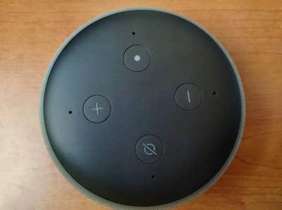 echo dot 3 botones