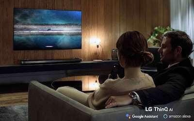 conectar alexa tv lg