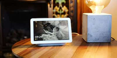 nest hub google fotos