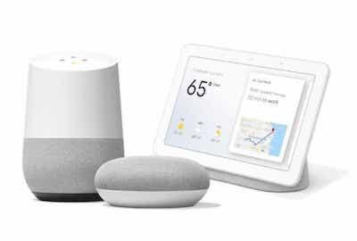 smart tv google home nest