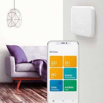 como funciona termostato wifi